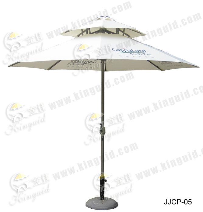 双层铝伞;JJCP-05